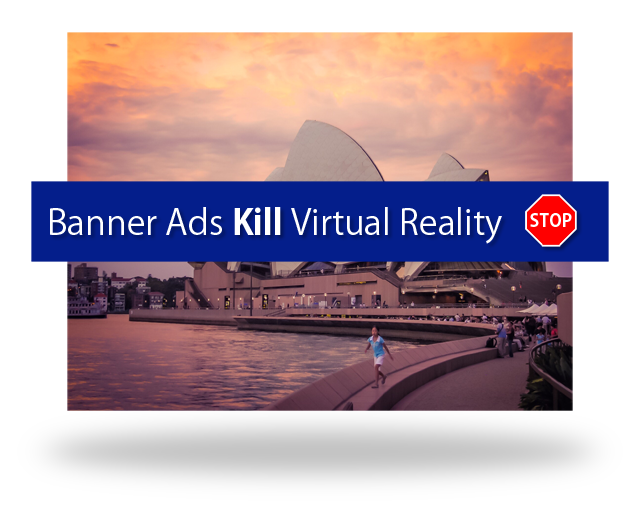 Banners Ads don't work in Virtual Reality